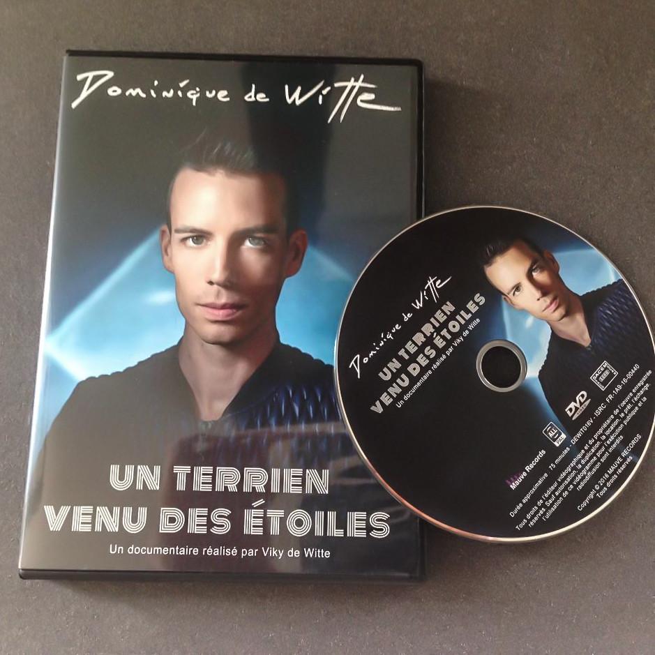 """DVD documentaire : """"Dominique de Witte - UN TERRIEN VENU DES ETOILES"""" - Réalisé par Viky de Witte - SORTIE OFFICIELLE 23 mai 2016 - MAUVE RECORDS"""