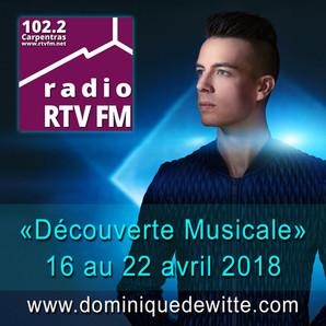 """Podcast - Chronique """"Découverte Musicale"""" sur RTV FM !"""