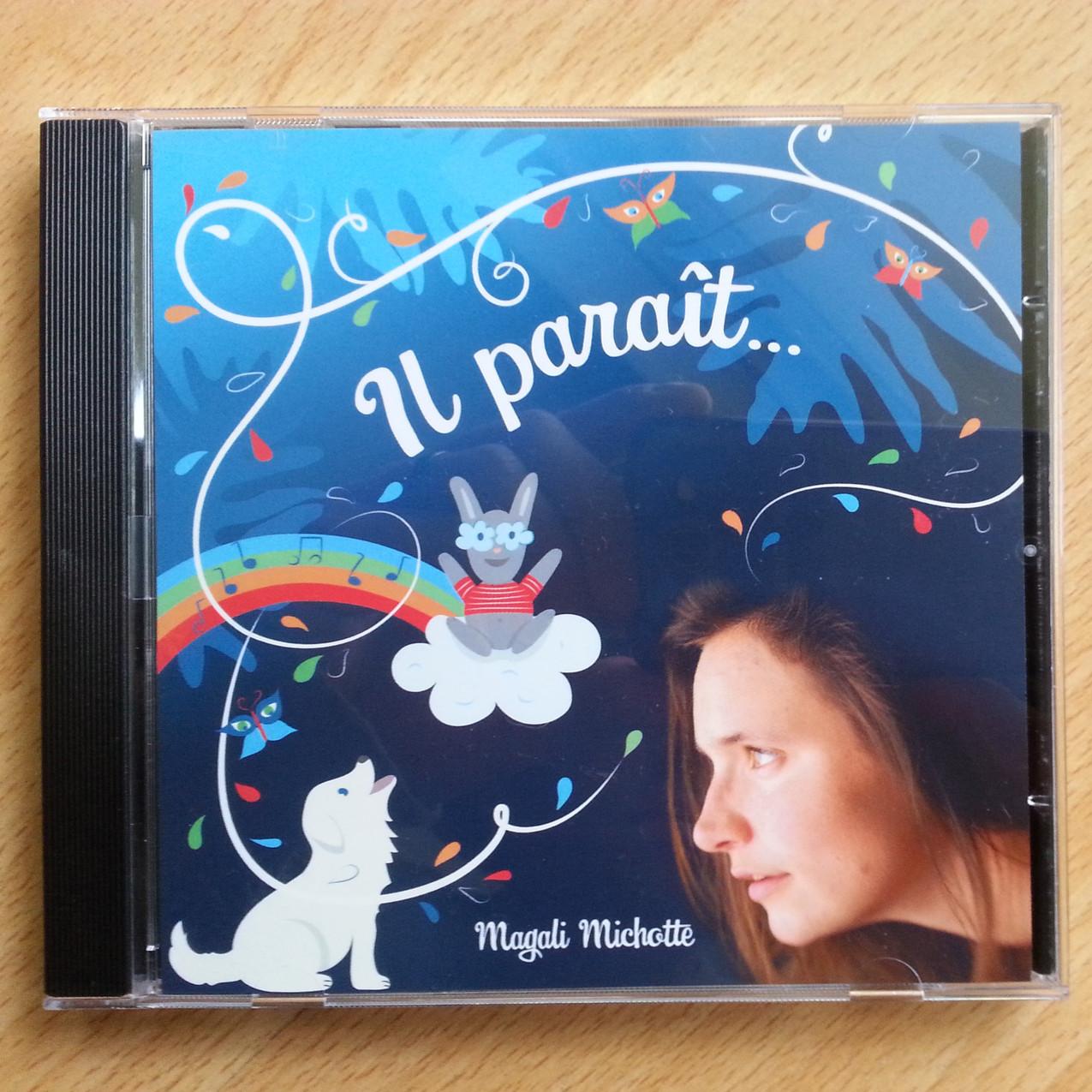 Magali Michotte - IL PARAIT - ALBUM - Mastering au STUDIO NOBILIS - Dominique de Witte - 2017 (3)