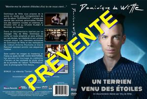 """PRÉVENTE - DVD documentaire """"UN TERRIEN VENU DES ÉTOILES"""""""