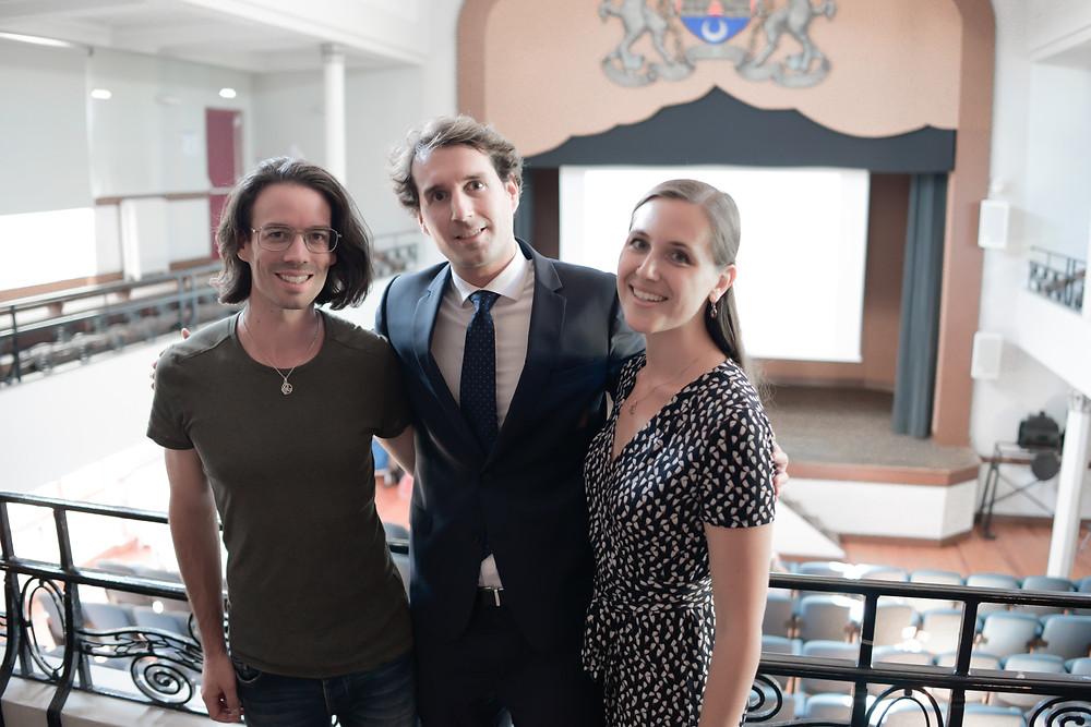 Dominique de Witte + Charles Henri Gallois + Viky de Witte - UPR GIRONDE - François Asselineau - Maison Cantonale - 15 septembre 2018 à BORDEAUX