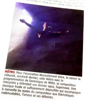 PRESSE - Journal LA GAZETTE - 17 juin 2016