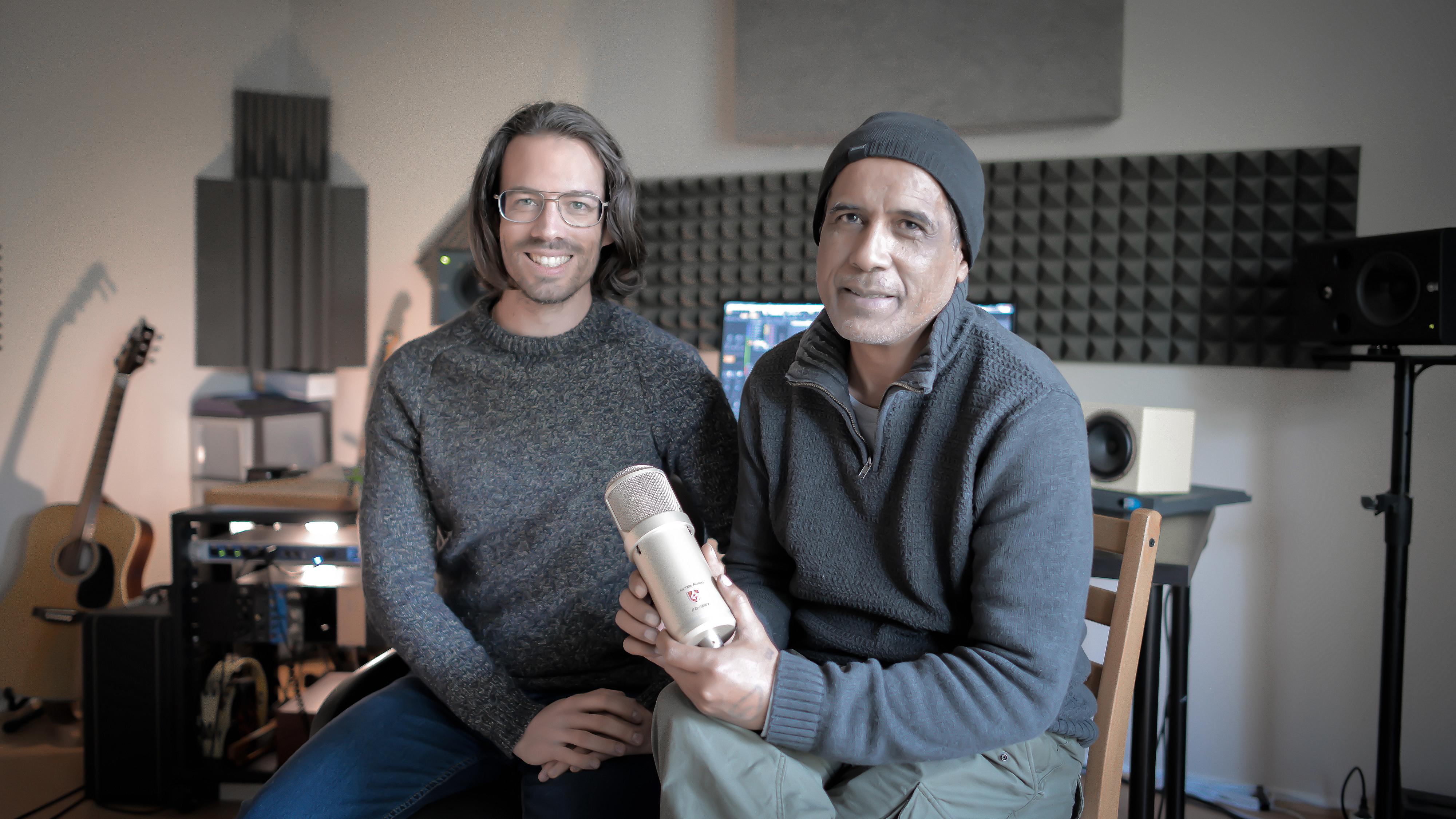 Dominique de Witte et Erick Manana