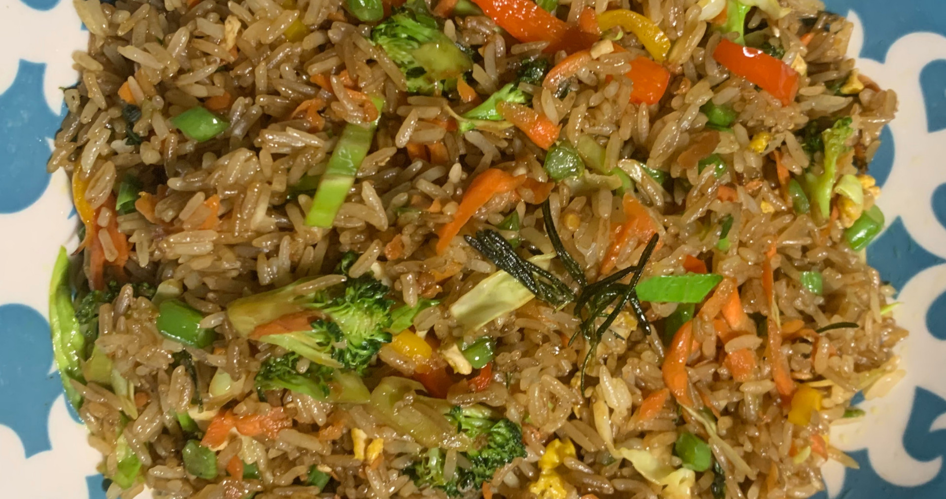 Jasmine Veggie Rice
