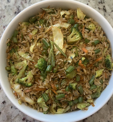 Sasu Veggie Fried Rice