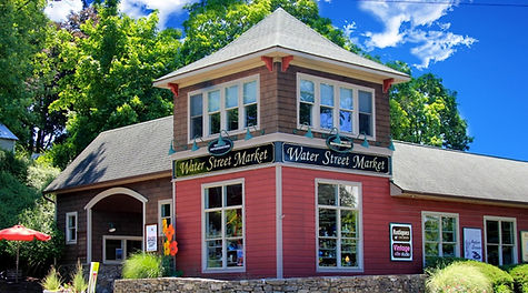 Water Street Market, home of DENIZEN Theatre in New Paltz, NY