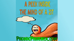 A peek in the mind of a zit  Sketch comedy funny lol jokes humor comedy Shawn Random Phoni