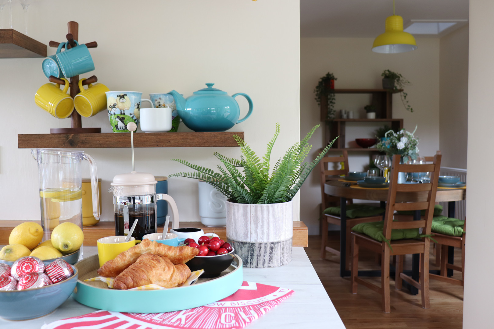 Holiday Cottage Kitchen Styling 1