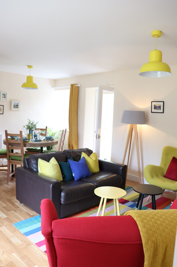 Holiday Cottage Living Room 1