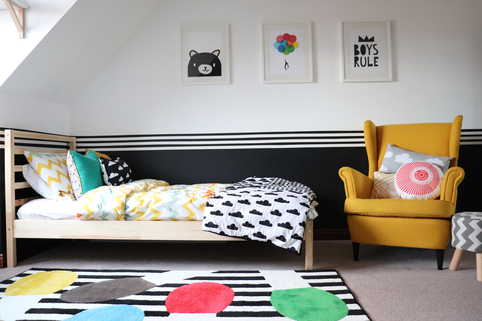 QUIRKY, FUN, COLOURFUL KIDS ROOM