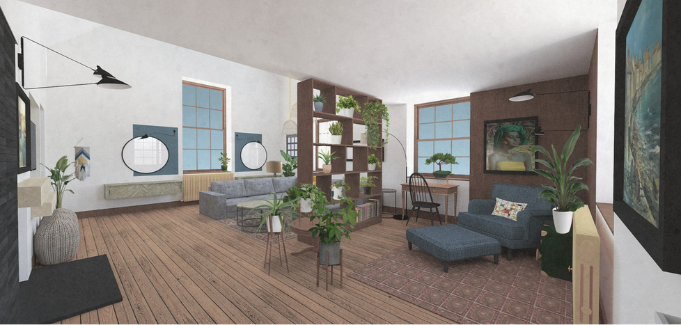 CUPAR MUIR LIVING ROOM PROJECT - WITH 3D VISUALS