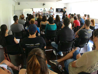 Acting workshop at Latin America Film Institute.