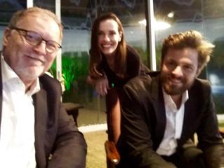 """Happy to work on second season of """"A vida secreta dos casais"""", directed by Carlos Alberto"""