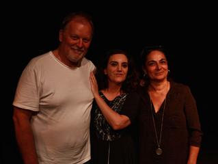 Muito feliz por ter a nossa maravilhosa escritora, Bia Gonçalves, na platéia a outra noite no último