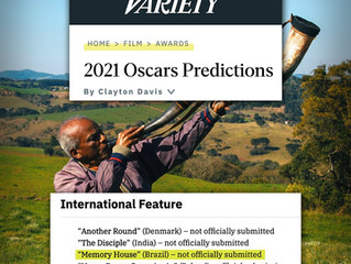 MEMORY HOUSE  -  OSCAR PREDICTION 2021
