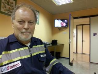 "Last day on ""ILHA DE FERRO"" Rede Globo."