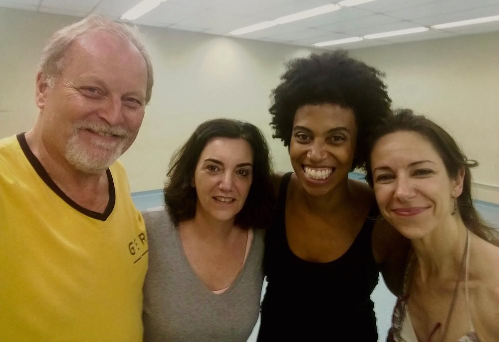 "Begin rehearsals of new (Brasilian version of ""Fedra"""