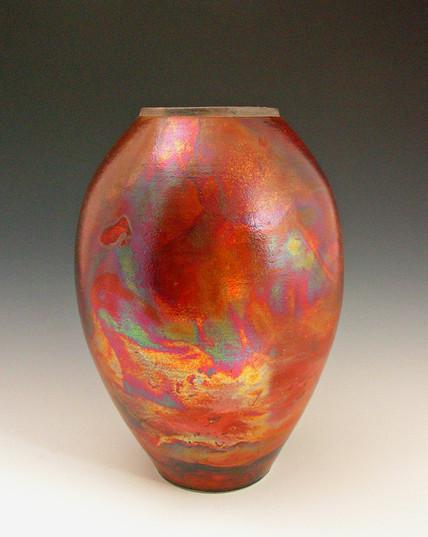 red & gold raku vase.jpg