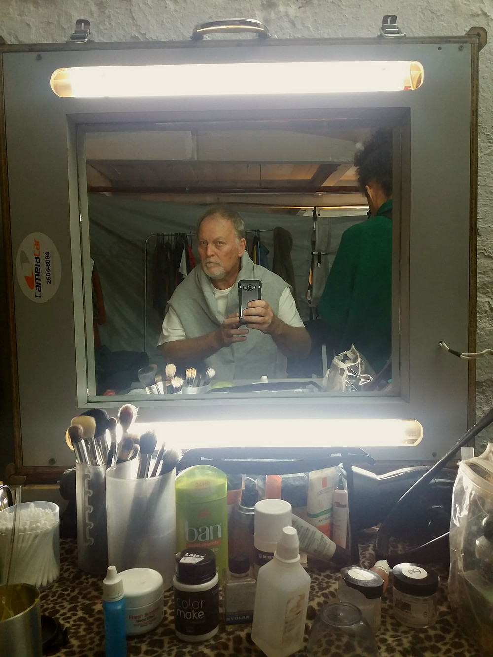 "Make-up test for ""FERAS"" ep 3.  Dir. Teo Poppovic"