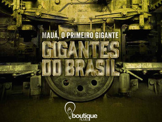 Today, finalizing GIGANTES OF BRAZIL for the History Channe. Written and directed by Fernando Honesk