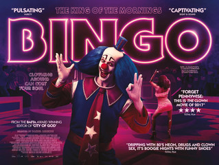 Today, November 29th, BINGO has it's first screening for the Academy members in Beverly Hills. D