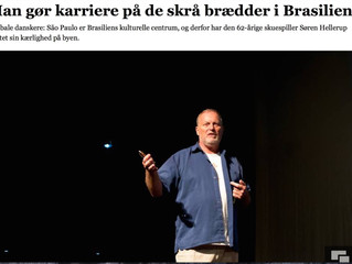 Article in major Danish newspaper: