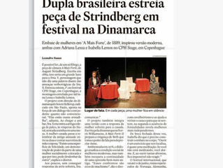 Notes in ESTADAO (important Brazilian news paper)
