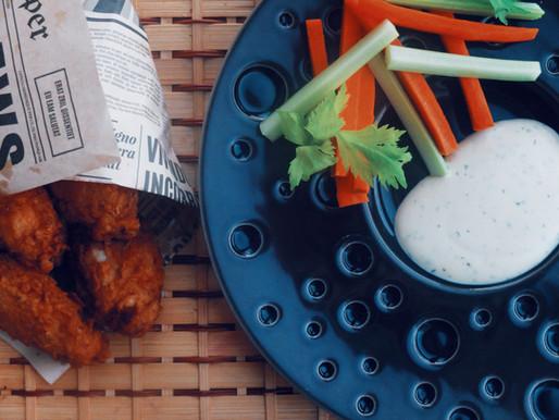 Traškūs vištienos sparneliai arba Ate KFC