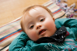 Elliott, Down Syndrome, Zebedee Management, disabled, model agency, disability, baby (1)