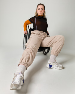 Maiya, Zebedee Management, disabled, model agency, disability, body confidence, body posit