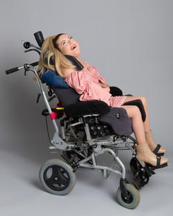 Lisa-Marie, Zebedee Management, disabled