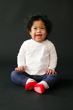 Anoushka, Down syndrome, Zebedee Managem