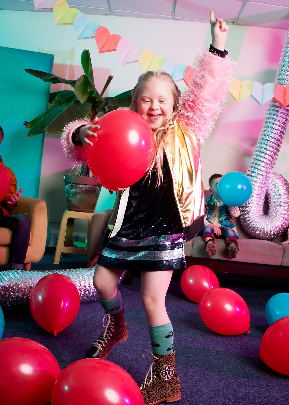 Kids fashion photo shoot for World Down Syndrome
