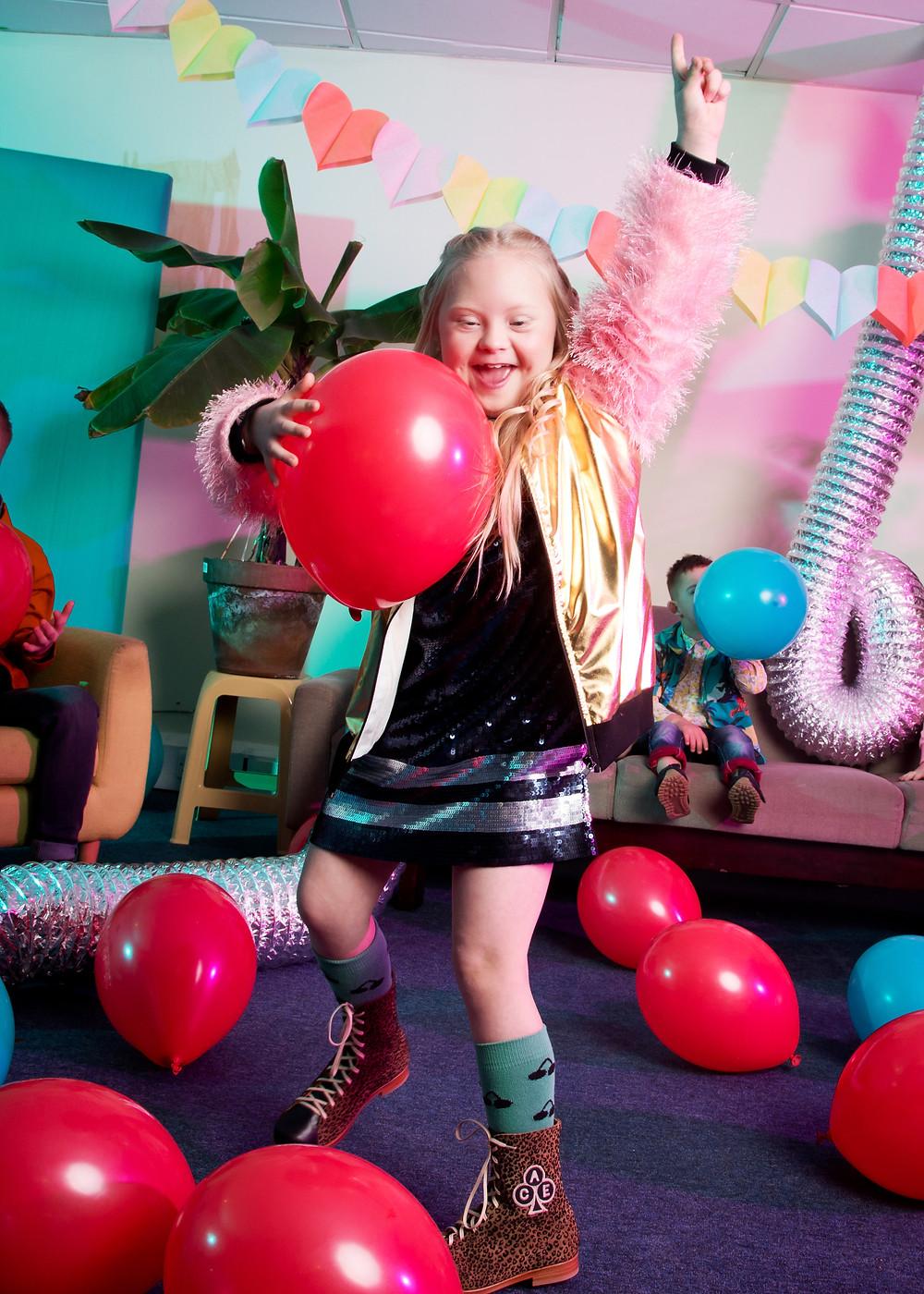 Kids fashion photo shoot for World Down Syndrome
