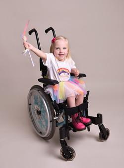 Olivia, Zebedee Management, disabled, mo