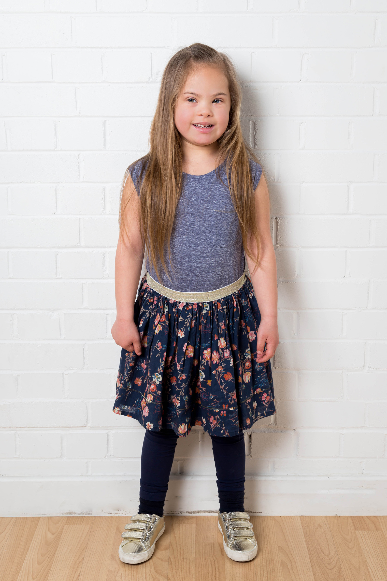 Maia, Down Syndrome model, Zebedee Management, disabled, model agency, disability, girl 02