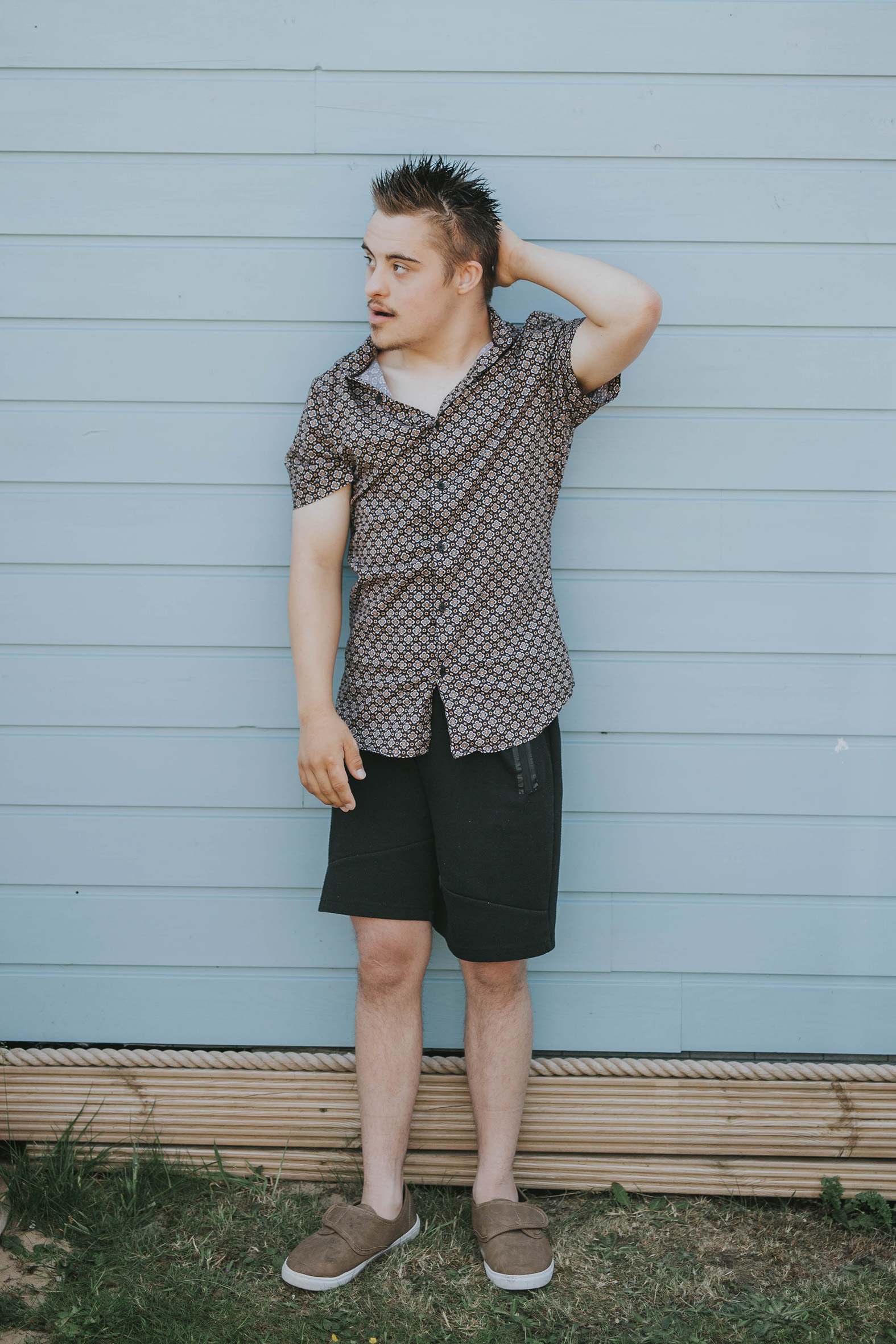 Harry, Down Syndrome, Zebedee Management, disabled, model agency, disability, man (1)