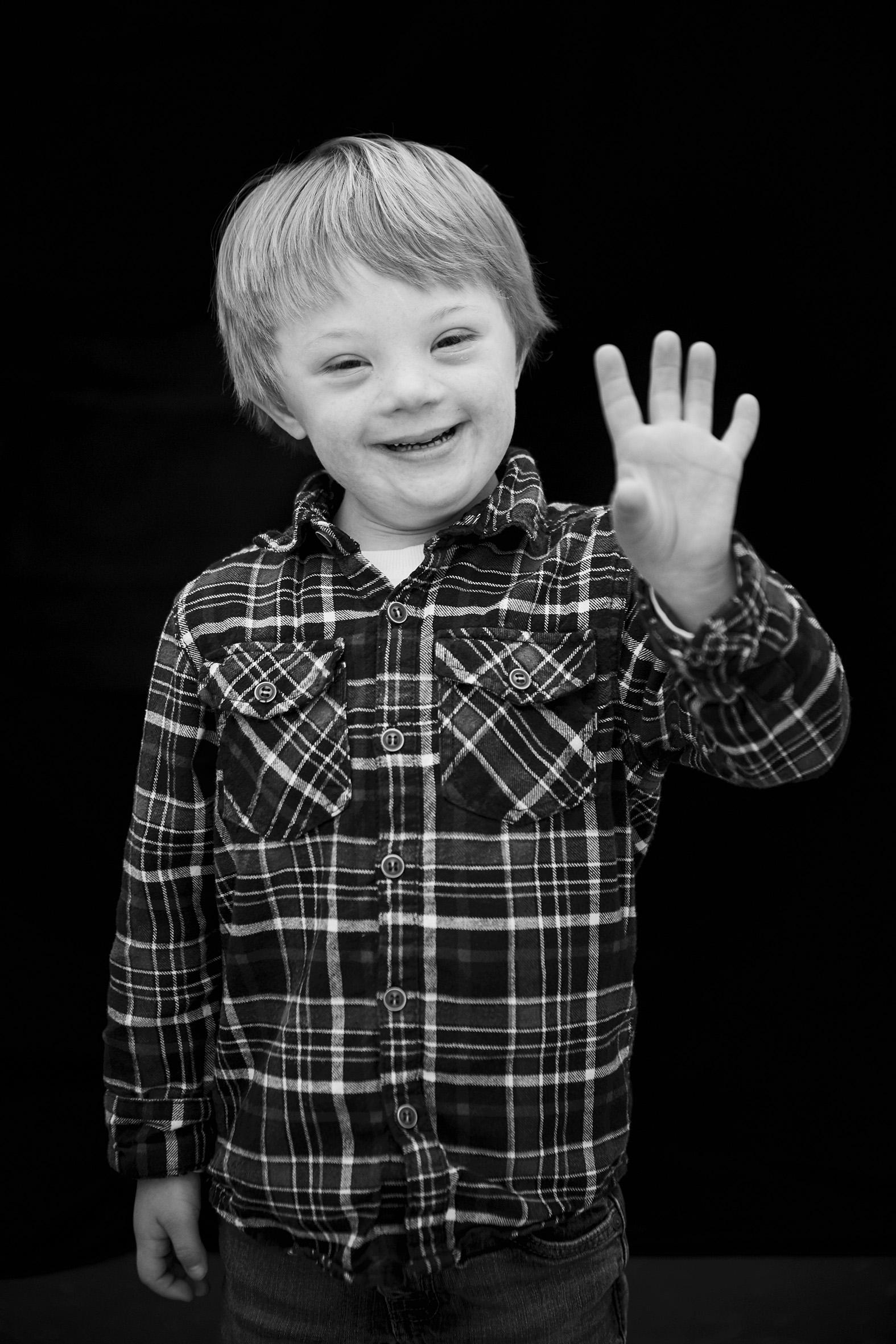 Alex, Down Syndrome, Zebedee Management,