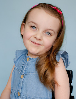 Sophia, Spinal Muscular Atrophy, Zebedee Management, disabled, model agency, disability, b