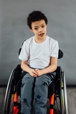 Lennie, Wheelchair User, Zebedee Managem