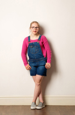 Louise, Down Syndrome, Zebedee Managemen