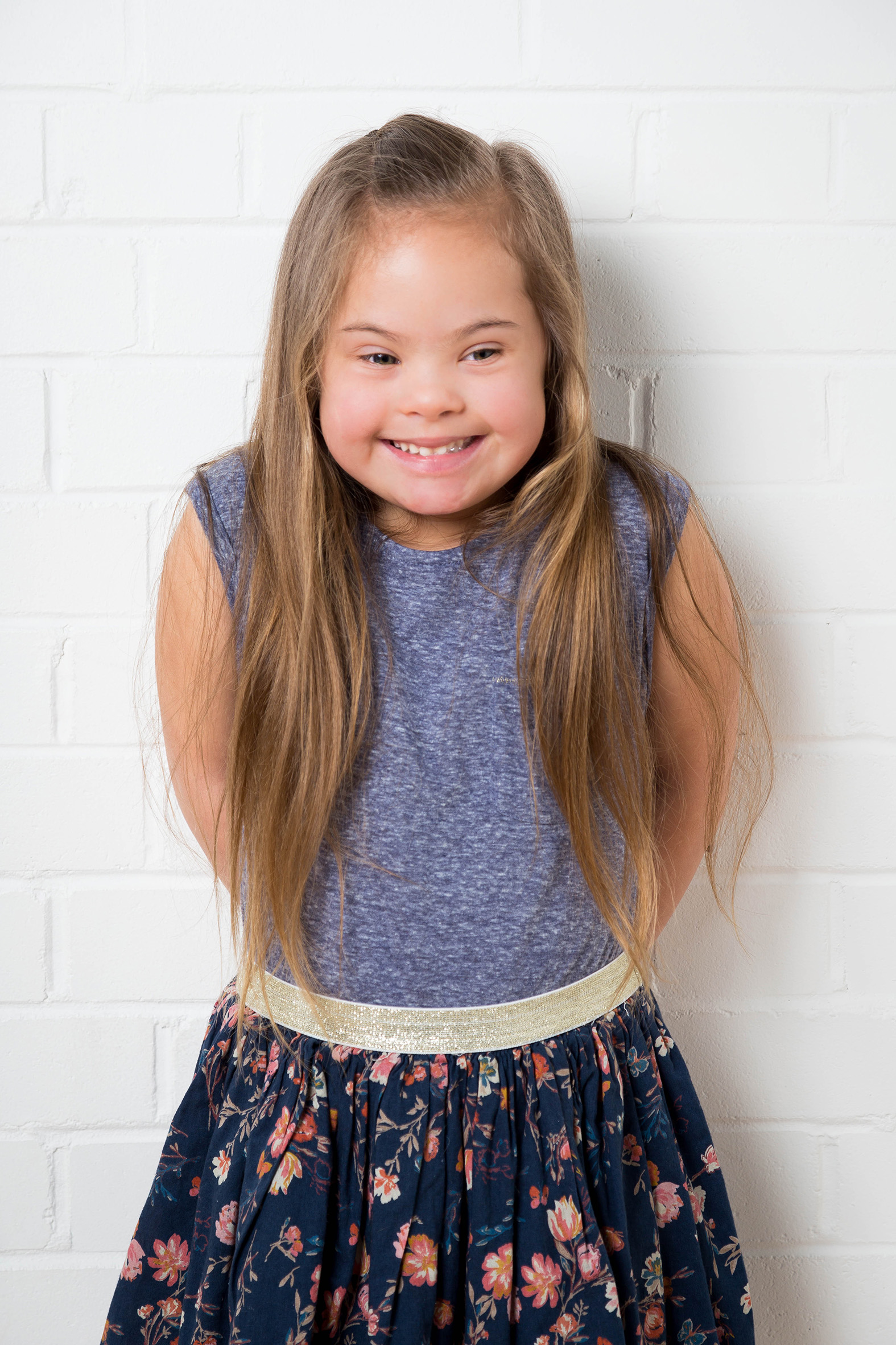 Maia, Down Syndrome model, Zebedee Management, disabled, model agency, disability, girl 08