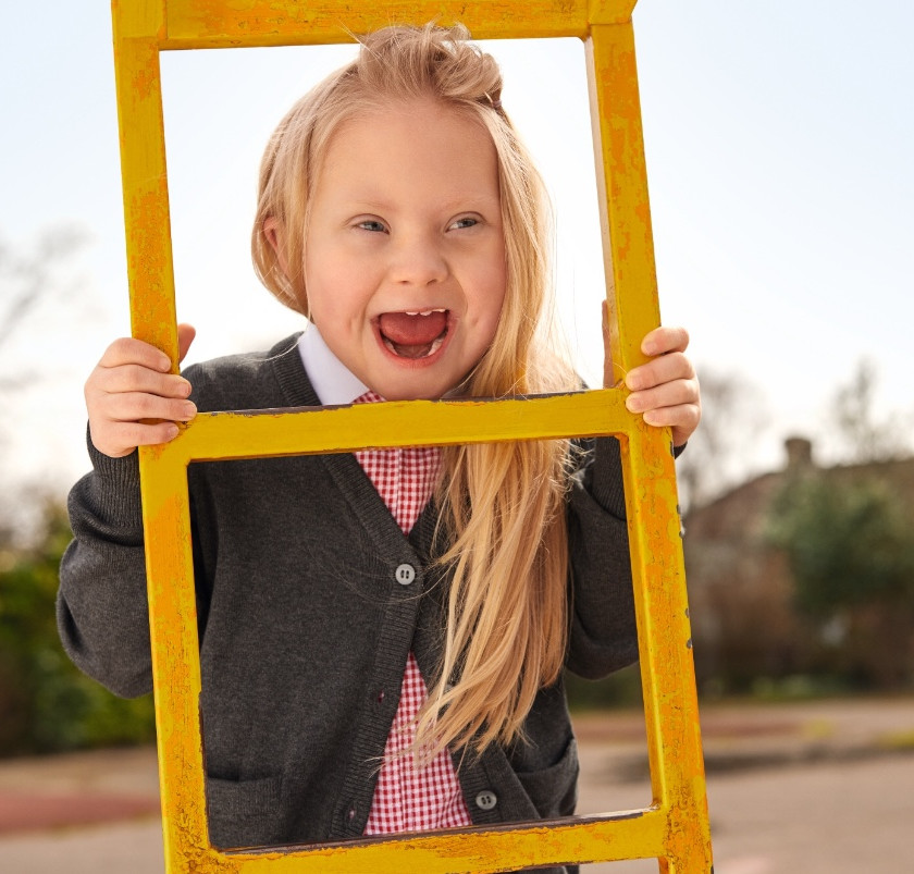 Cora B Child Model Down Syndrome