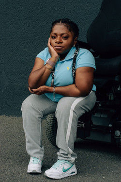 Monique, Brittle Bone Disease, Zebedee M