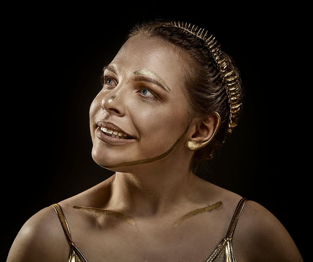 #kintsugi #gold #portrait #cerebralpalsy
