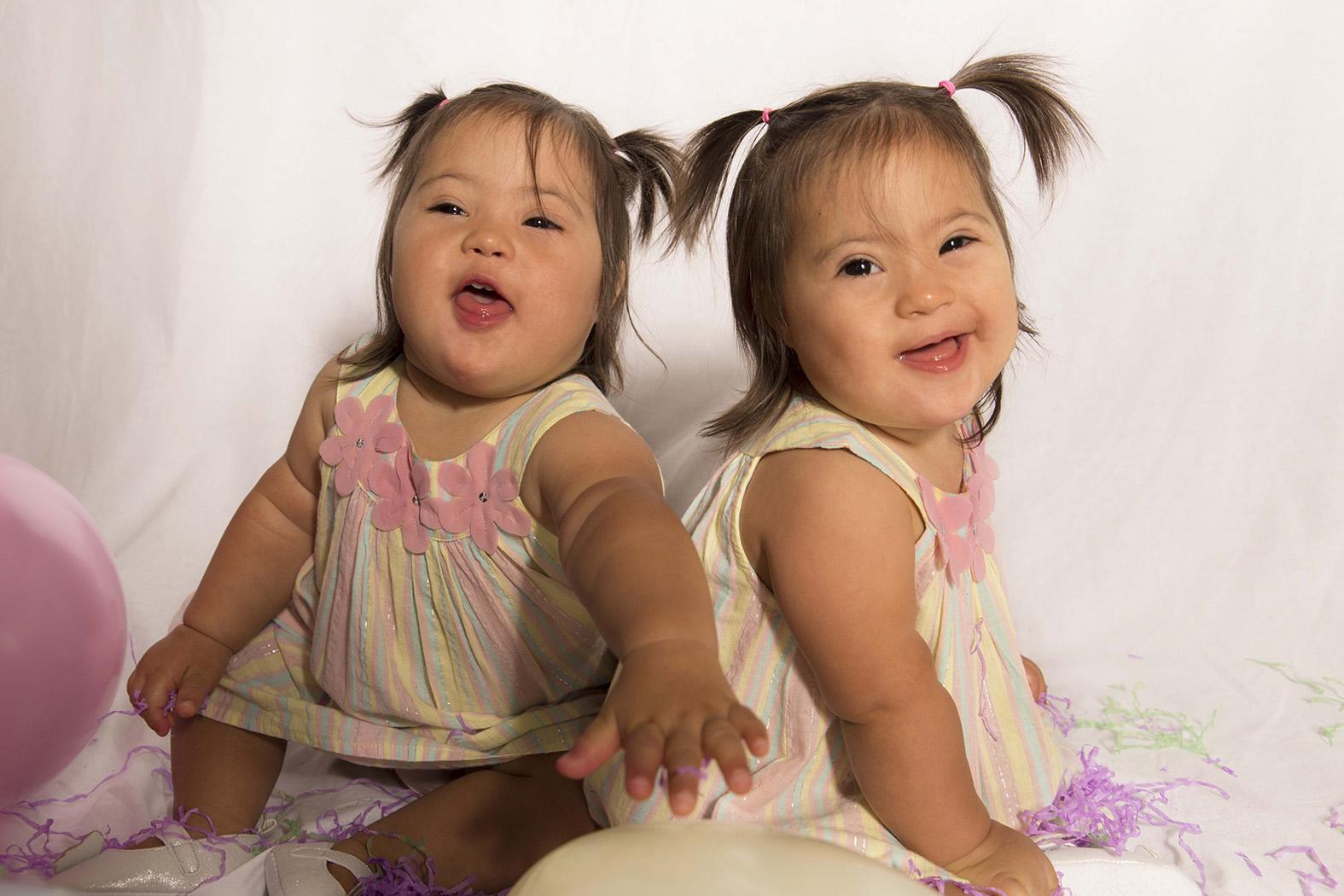 Hannah and Rachel, Down Syndrome, Zebede