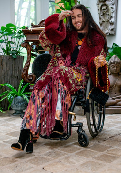 Julian, Zebedee Management, disabled, model agency, disability, differences, Man (68)