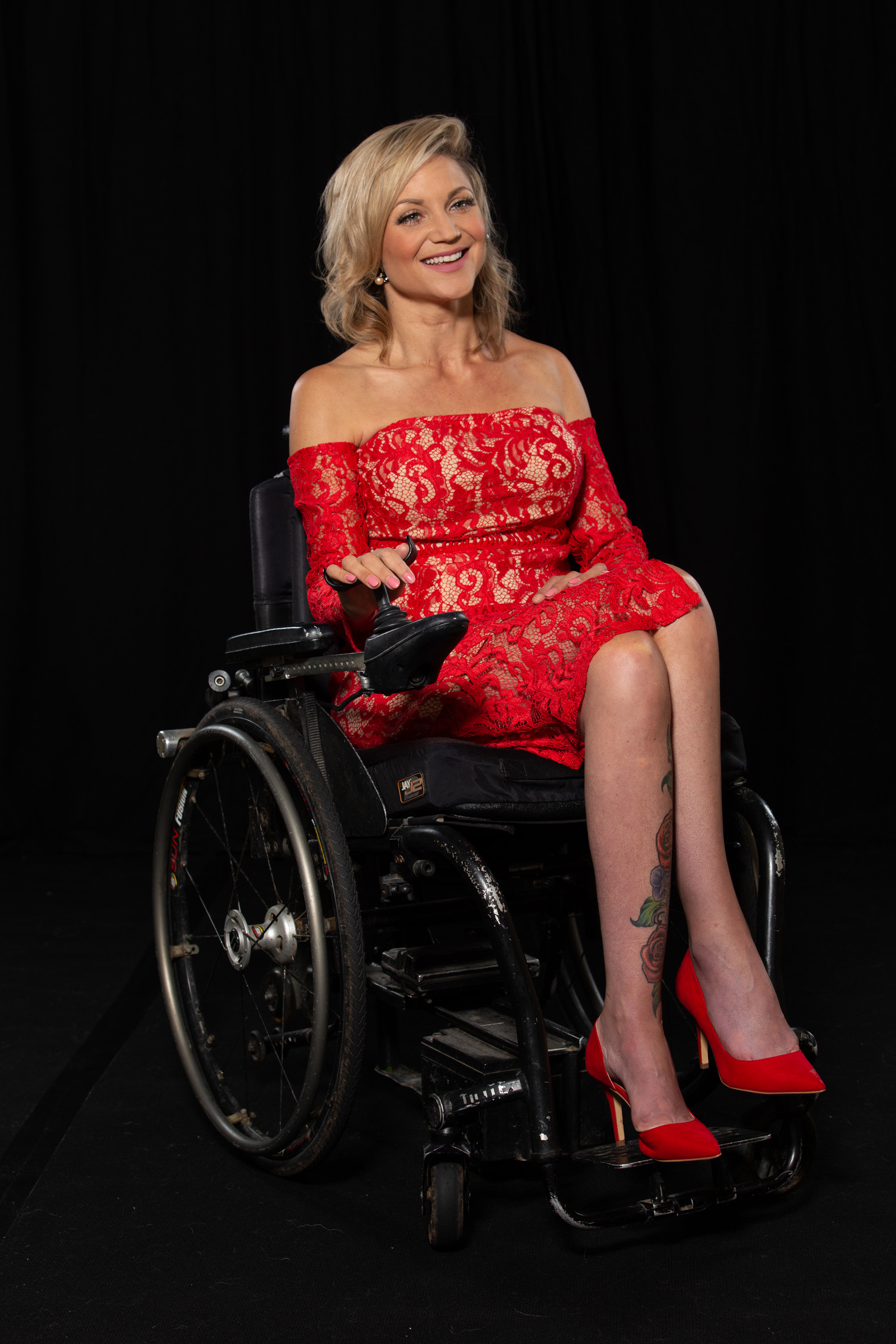 Heidi, Tetraplegic, Zebedee Management,