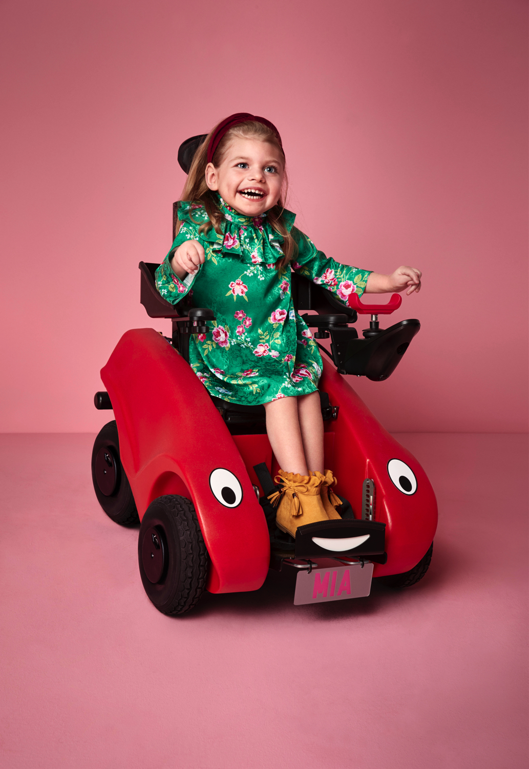 Mia, Cerebral Palsy, Zebedee Management,