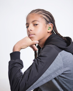 Aharon, bilateral hearing loss, Zebedee